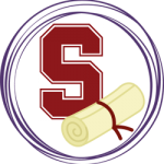 Standford logo and diploma