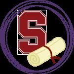 Standford logo and diploma